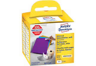 AVERY ZWECKFORM ASS0722540 ROLLENETIKETTEN UNIVERSAL 57X32MM 500ST