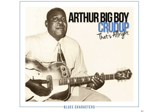 "Arthur ""big Boy"" Crudup - That's All Right - (CD)"