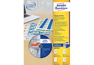 AVERY ZWECKFORM ADP5000 DESIGNPRO 5000 VOLLVERSION