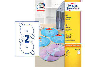 AVERY ZWECKFORM L7676-100, CD-Etiketten
