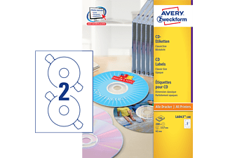 AVERY ZWECKFORM L6043-100, CD-Etiketten