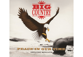 Big Country - Peace In Our Time - Greatest Hits Live - (CD)