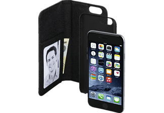 HAMA 2in1, Bookcover, Apple, iPhone 6, iPhone 6s, Kunstleder, Schwarz