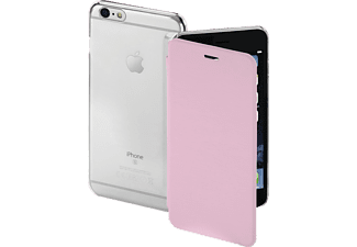 HAMA Clear, Bookcover, Apple, iPhone 6, iPhone 6s, High-Tech-Polyurethan (PU)/Kunststoff, Rosa