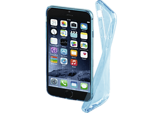 HAMA Clear, Backcover, Apple, iPhone 6, iPhone 6s, Thermoplastisches Polyurethan (TPU), Blau