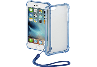HAMA Anti Shock, Backcover, iPhone 6/6s, Polycarbonat/Thermoplastisches Polyurethan, Blau