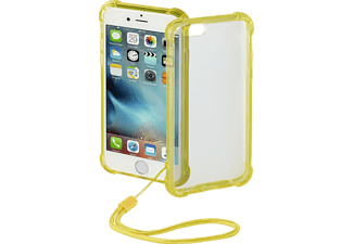 HAMA Anti Shock, Backcover, iPhone 6, iPhone 6s, Polycarbonat (PC)/Thermoplastisches Polyurethan (TPU), Gelb