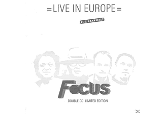 Focus - Live In Europe (Limited Edition 2CD) - (CD)
