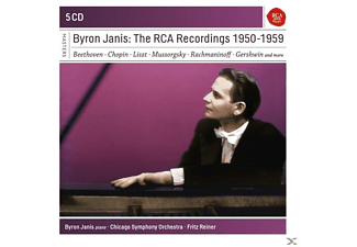 Byron Janis - Byron Janis-The RCA Recordings 1950-1959 - (CD)
