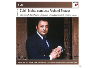 Zubin Mehta - Zubin Mehta Conducts Richard Strauss - (CD)