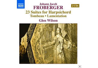 Glen Wilson - 23 Suites for Harpischord - (CD)