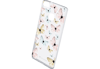 CELLULAR LINE 37741 STYLE CASE BUTTERFLY, Backcover, P9 Lite, Transparent/Bunt