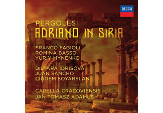 Franco Fagioli, VARIOUS - Adriano In Siria - (CD)