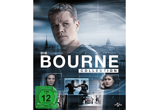 The Complete Bourne 4 Movie Collection - (Blu-ray)