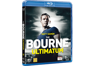 The Bourne Ultimatum Action Blu-ray