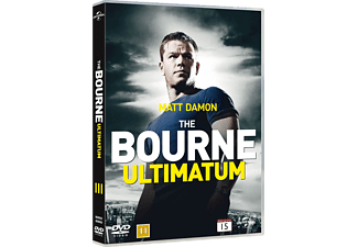 The Bourne Ultimatum Action DVD