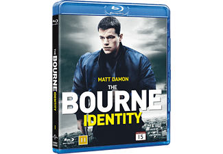 The Bourne Identity Action Blu-ray
