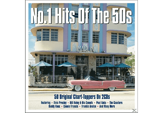 VARIOUS - No 1 Hits Of The 50s [CD]