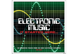 VARIOUS - Electronic Music-It Started Here [CD]