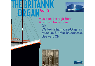 VARIOUS - The Britannic Organ Vol.3 - (CD)