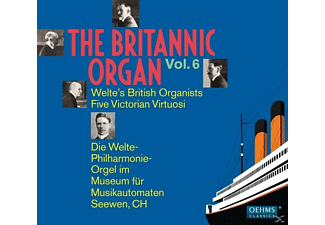 Diverse, VARIOUS - The Britannic Organ Vol.6 - (CD)
