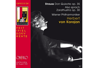 Wiener Philharmoniker - Don Quixote/Also Sprach Zarathustra Op.30 [CD]