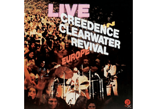 Creedence Clearwater Revival - Live In Europe (2LP) - (Vinyl)