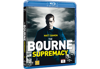 The Bourne Supremacy Action Blu-ray