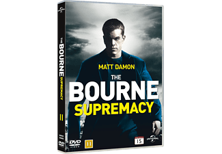 The Bourne Supremacy Action DVD