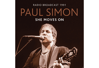Paul Simon - She Moves On/Radio Broadcast 1991 - (CD)