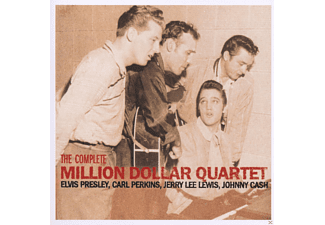 Elvis Presley, Carl Perkins, Jerry Lee Lewis, Johnny Cash - The Complete Million Dollar Quartet [CD]