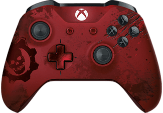 MICROSOFT Xbox Wireless Controller - Gears of War 4 Crimson Omen Limited Edition - (WL3-00003)