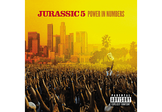 Jurassic 5 - POWER IN NUMBERS - (CD)
