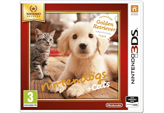 Nintendogs+Cats-Golden Retr&new Friends Select (Nintendo 3DS)