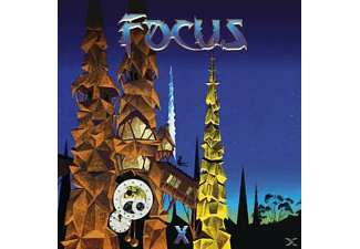 Focus - X (Limited 180g Blue Vinyl Gatefold 2LP) - (Vinyl)