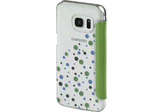HAMA Candy Drops, Bookcover, Galaxy S7, Grün/Transparent