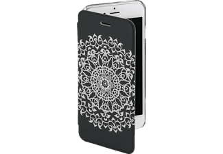 HAMA Boho Circle Bookcover iPhone 6, iPhone 6S Grau/Transparent