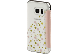 HAMA Candy Drops Bookcover Samsung Galaxy S7 High-Tech-Polyurethan (PU)/Kunststoff Rosa