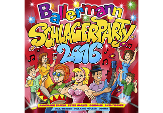 VARIOUS - Ballermann Schlagerparty 2016 [CD]