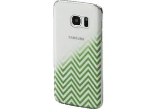 HAMA Blurred Lines Backcover Galaxy S7 Grün/Transparent