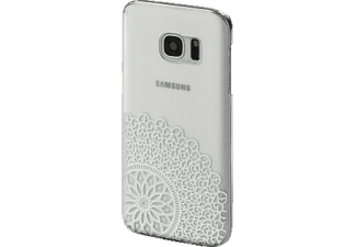 HAMA Boho Dance Backcover Samsung Galaxy S7 Kunststoff Transparent/Weiß