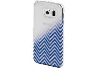 HAMA Blurred Lines Backcover Galaxy S6 Blau/Transparent