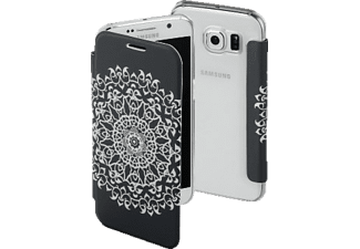 HAMA Boho Circle, Bookcover, Galaxy S6, Grau/Transparent