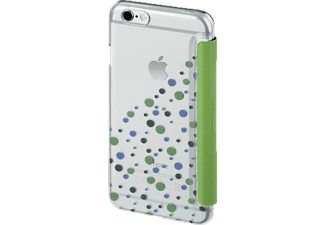 HAMA Candy Drops, Bookcover, iPhone 6/6s, Grün/Transparent