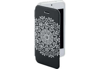 HAMA Boho Circle, Bookcover, iPhone 5, iPhone 5S, iPhone SE, Grau/Transparent