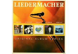 VARIOUS/LIEDERMACHER - Original Album Series [CD]