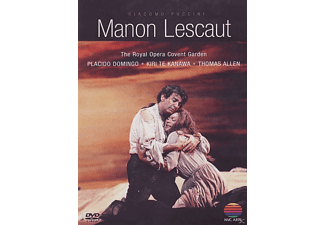 Kiri Te Kanawa, Plácido Domingo, Allen Thomas, Covent Garden The Royal Opera - Manon Lescaut [DVD]