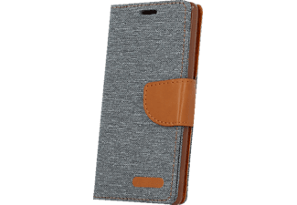 AGM 26392, Bookcover, Galaxy J5 (2016), Grau/Braun