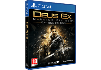Deus Ex: Mankind Divided - Day One Edition (PlayStation 4)