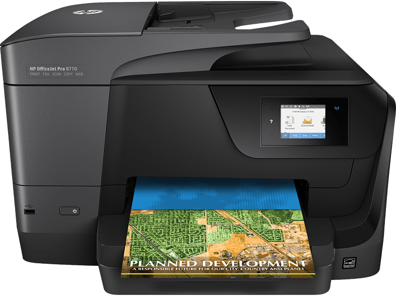 HEWLETT PACKARD Officejet Pro 8710 All-in-One Printer - Business Inkjet Πολυμηχά laptop  tablet  computing  εκτύπωση   μελάνια πολυμηχανήματα sales